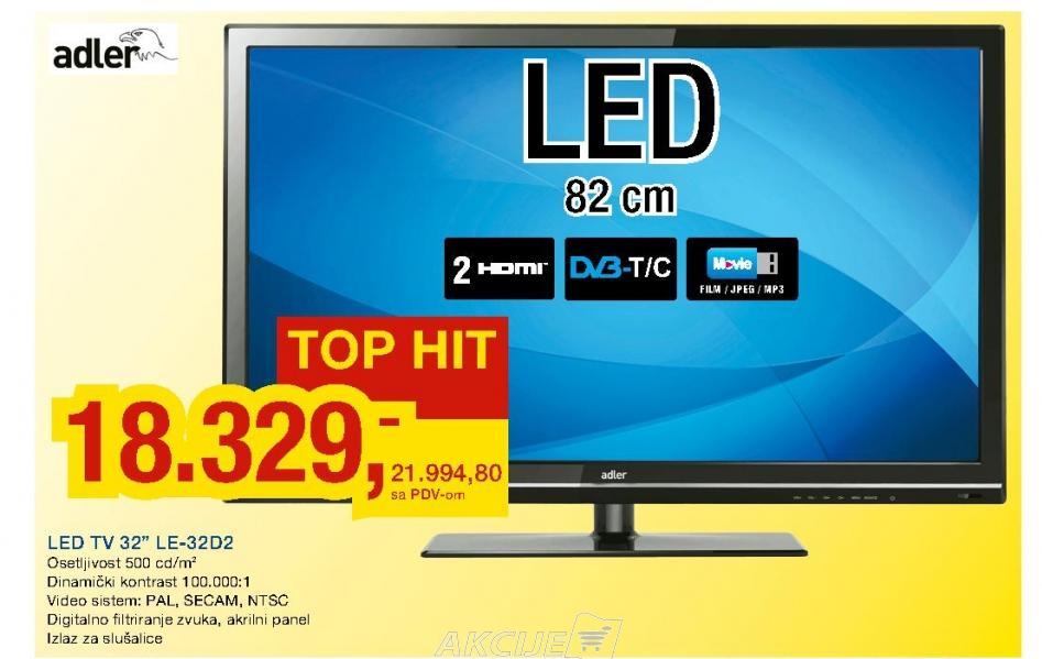 """Televizor LED 32"""" LE-32D2"""