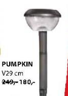 Solarna lampa Pumpkin