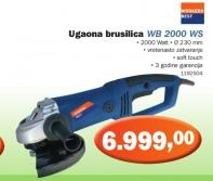Ugaona brusilica WB 2000 WS