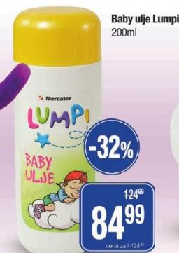Baby ulje