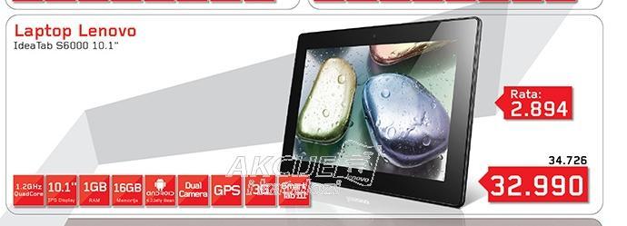 Tablet IdeaTab S6000