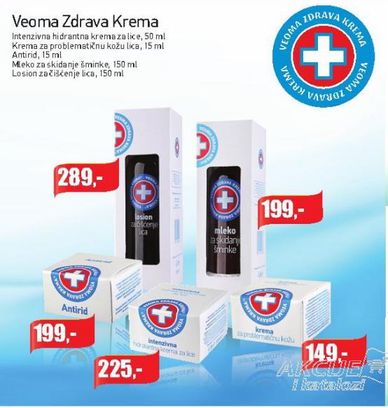 Intenzivna hidratantna krema za lice