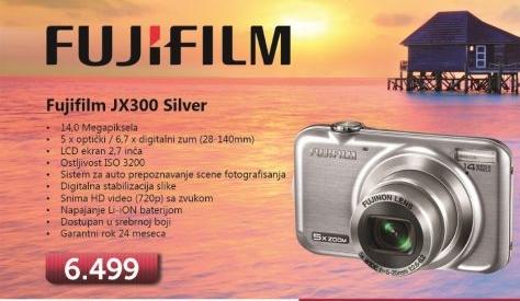 Fotoaparat JX300 Silver