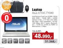 Laptop X75VC-TY049 White