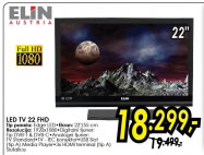 Televizor LED LCD TV LED 22 FHD