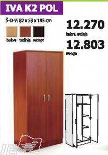 Garderober Iva K2 Pol