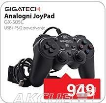 Joypad analogni Gx-505c