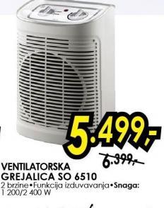 Grejalica ventilatorska So 6510