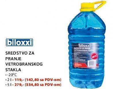 Sredstvo za pranje vetrobranskog stakla 2l