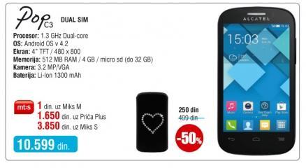 Mobilni telefon Onetouch C3