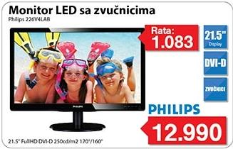 "Monitor LED 21,5"" 226v4lab sa zvučnicima"