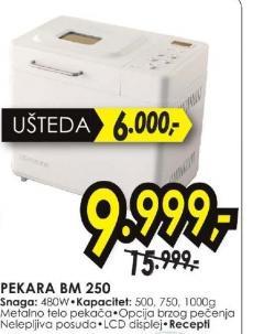 MINI PEKARA BM 250