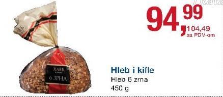 Hleb 6 zrna