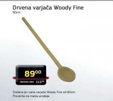 Drvena vajrača Woody Fine