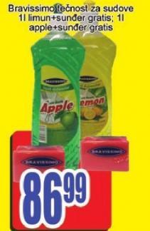 Deterdžent za sudove jabuka