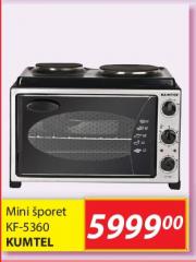 Mini Šporet KF-5360 - Kumtel