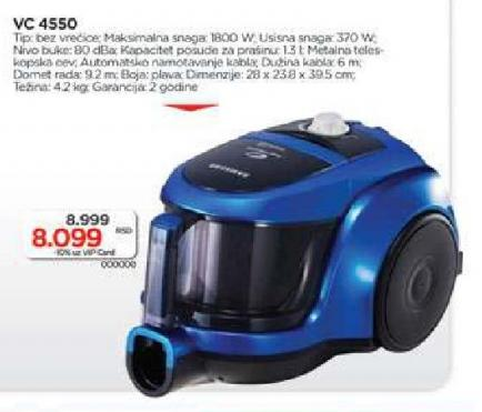 Usisivač VC 4550