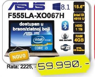 Laptop K555LA-XO067H