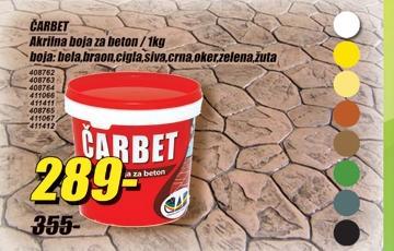 Akrilna boja za beton