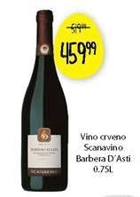 Crno vino Barbera d Asti