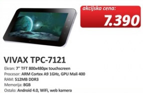 Tablet Vivax TPC-7121