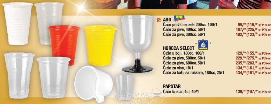 Plastične čaše
