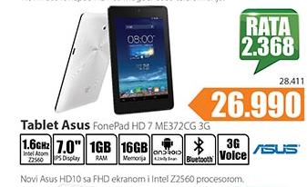 Tablet FonePad  HD 7 ME372CG 3G
