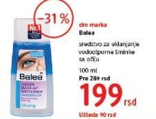 Sredstvo za uklanjanje vodootporne šminke