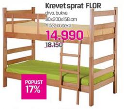 Krevet na sprat Flor