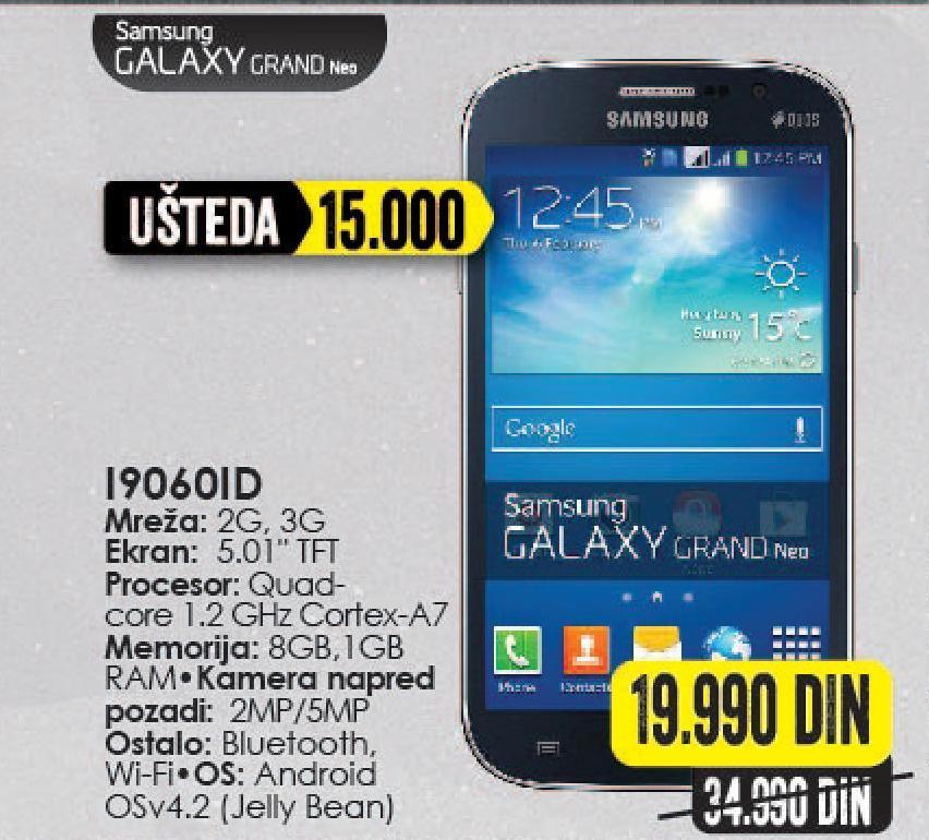 Mobilni telefon Galaxy Grand Neo I9060iD