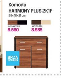Komoda Harmony Plus 2K1F