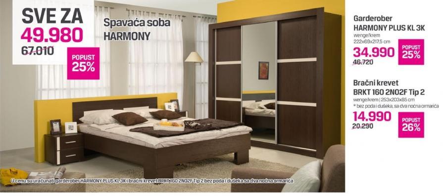 Spavaća soba Harmony