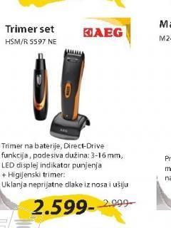 Trimer set HSM/R5597NE