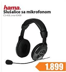 Slušalice Sa Mikrofonom CS-408