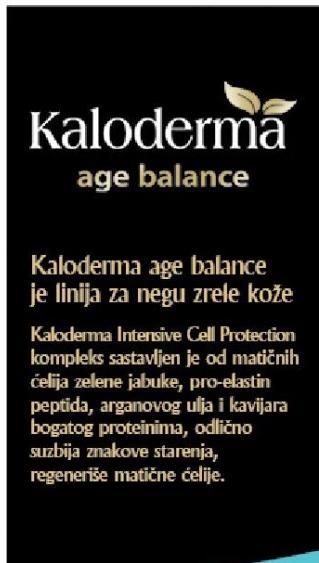 Kaloderma age balance