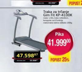 Traka za trčanje KP-4100K