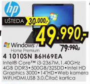 Laptop  Ultrabook ENVY 4 1010SN B6H69EA