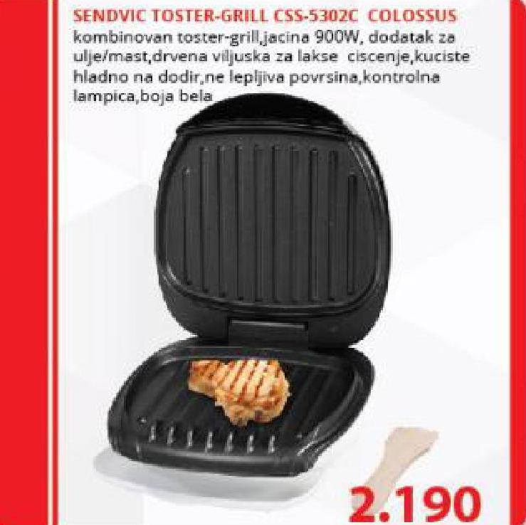 Toster grill CSS 5302C