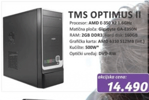 Desktop računar TMS Optimus II