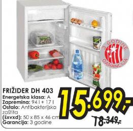 Frižider DH 403