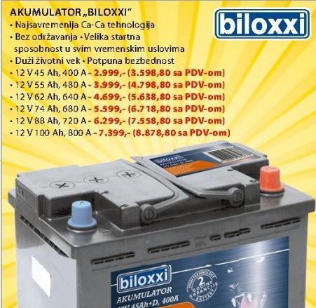 Akumulator BILOXXI
