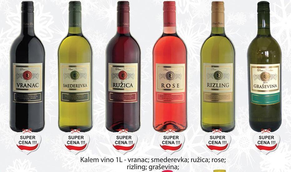 Crno vino Ružica