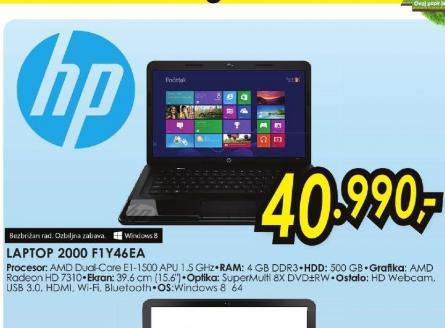 Laptop 2000 F1Y41EA