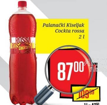 Gazirani sok Rossa