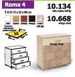 Komoda Roma 4
