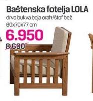 Baštenska fotelja Lola