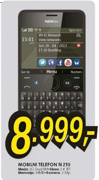Mobilni Telefon N210