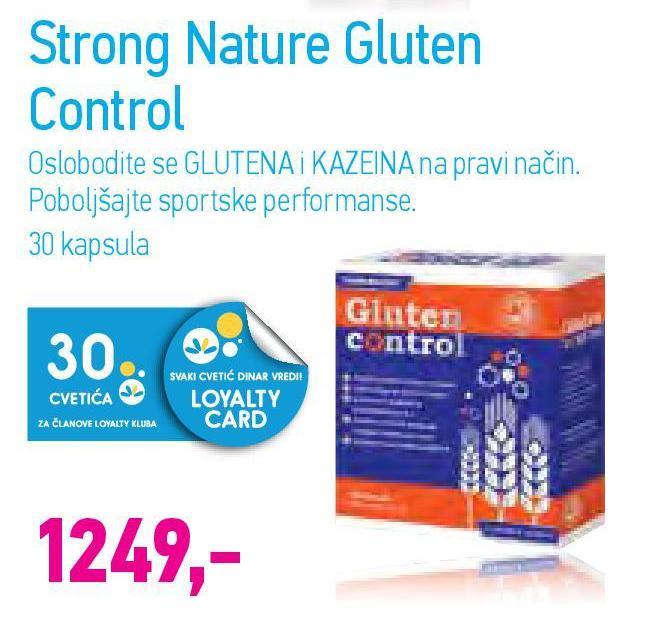 Kapsule Gluten control