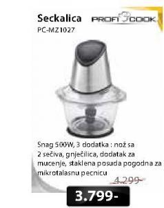 Mini seckalica PC-MZ1027