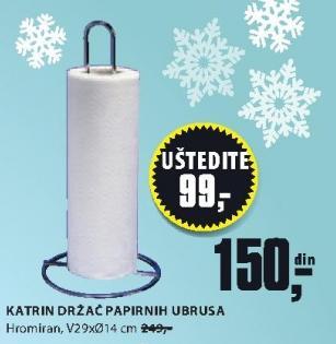 Držač papirnih ubrusa Katrin